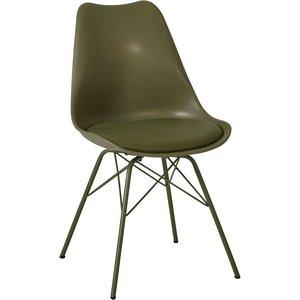 Sollefteå stol - Olivgrön
