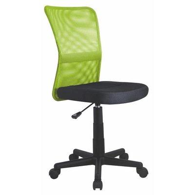 Fox skrivbordsstol - Svart/limegrön