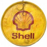 Oljefatslock Vintage Ø58 cm - Shell