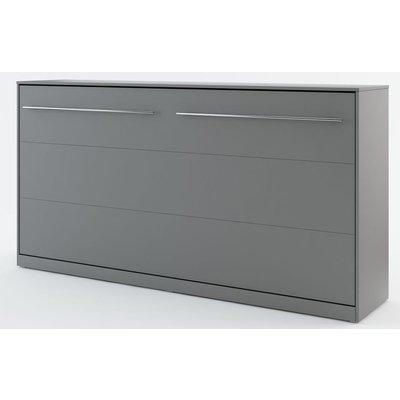 Sängskåp compact living Horisontellt (90x200 cm fällbar säng) - Grå