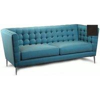 Bornholm soffa - 4-sits - Svart