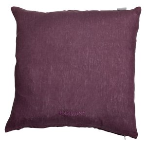 Harmony kuddfodral 45x45 cm - Lila linne