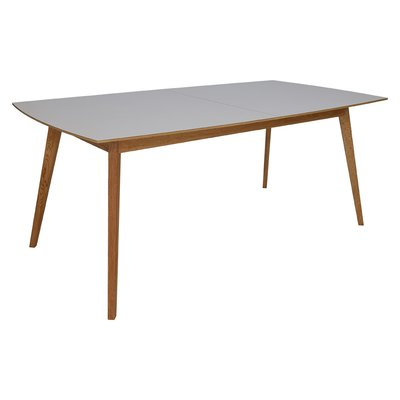 Millie matbord 195-245 cm - Ek / Ljus Virrvarr