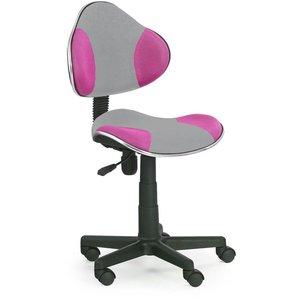 Cesar skrivbordsstol - Grå/lila