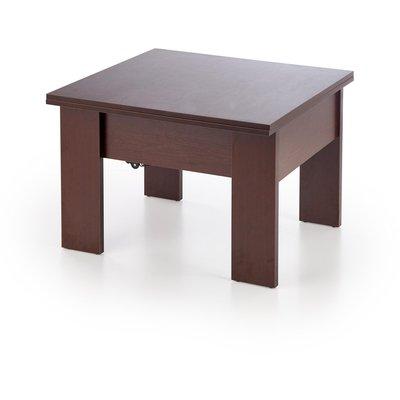 Serafin soffbord utdragbart 80-160 cm - Mörk valnöt