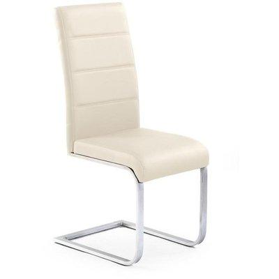 Macy stol - Mörk krämvit