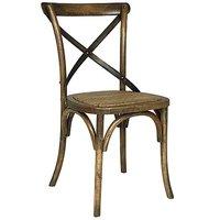 Holmen stol - Ek/metall