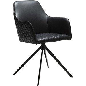 Twine karmstol - Vintage svart