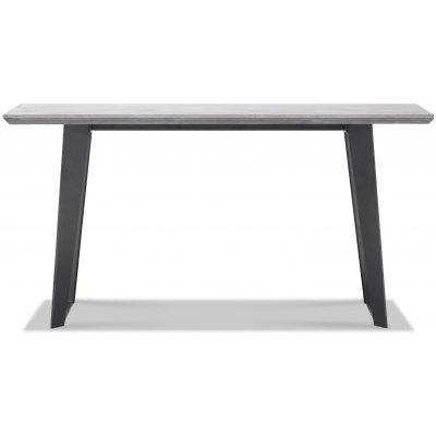 Ghost konsolbord med betongskiva - 150 cm