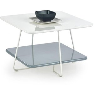 Azita soffbord - Vit/grå