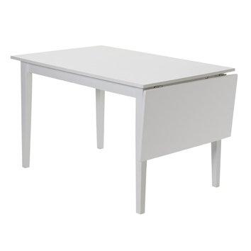 Vienna klaffbord 120/160 cm - Vit