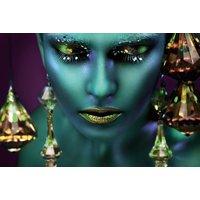 Glastavla Avatar - 120x80 cm