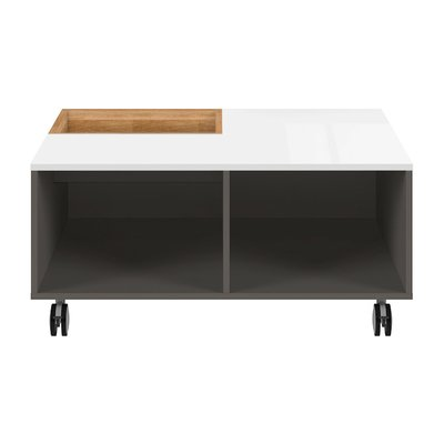 Link soffbord - Grafitgrå/vit