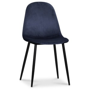 Carisma stol - Blå sammet