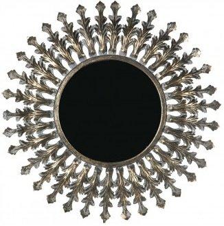 Rankan spegel 67 cm - Antik mässing