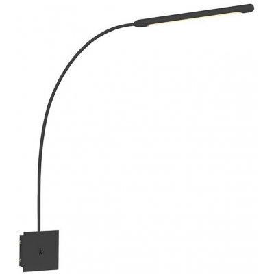 Antenna vägglampa - Svart