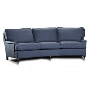 Howard Classic svängd 5-sits soffa - Valfri färg!
