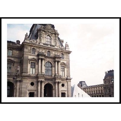 LOUVREN PARIS - Poster 50x70 cm