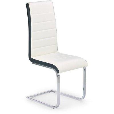 Iris stol - (vit|svart) Krom