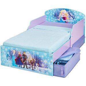 Disney Frozen barnsäng - Lila/blå