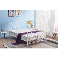 Topsy säng 120 cm - Vit