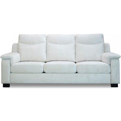 Atlas 3-sits soffa med hög rygg - Off White chenille