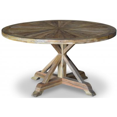 Palma runt matbord Ø140 cm - Återvunnen drivved
