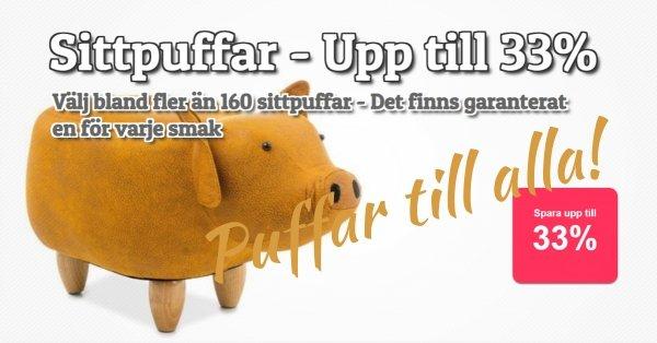 Sittpuffar för varje smak fr. 390 kr