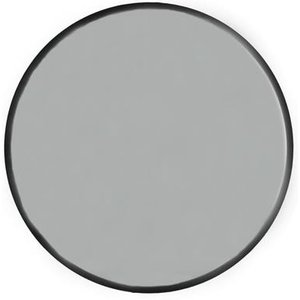Velvet rund spegel 80cm - Svart sammet