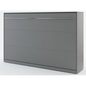 Sängskåp compact living Horisontellt (120x200 cm fällbar säng) - Grå