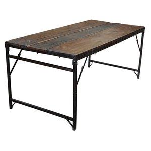 Växjö vikbart matbord 182 cm - Återvunnet trä