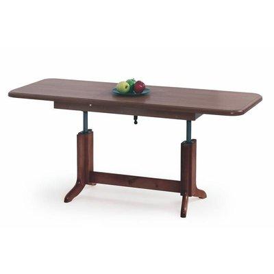 Lia höj- och sänkbart soffbord - Kastanjebrun