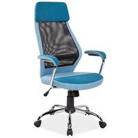 Meghan skrivbordsstol - Blå