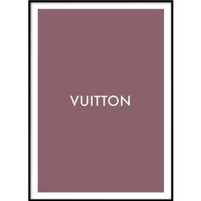 LOUIS VUITTON No 2 - Poster 50x70 cm