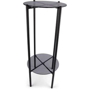 Piedestal Lilly - Rök/svart