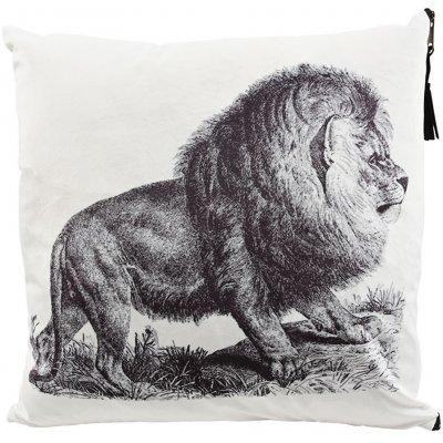 Lejon kuddfodral 45x45 cm - Lejon