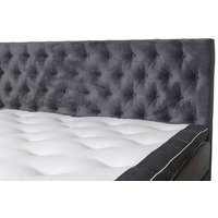 Sober Sänggavel 180 cm - Grå sammet