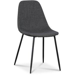 Hylte stol - Grå/svart