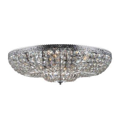 Vanadis Taklampa - Krom/Kristall