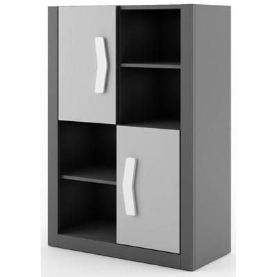 Arden bokhylla - Graphite/grå