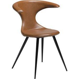 Flair matstol - Vintage ljusbrun