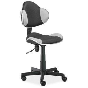 Carla skrivbordsstol - Grå/svart