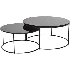 Töreboda soffbord - Metall/Trä/glas & 3490.00