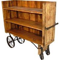 Strömstad vagn - Vintage trä