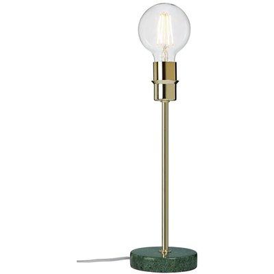 Converto bordslampa - Grön marmor/krom