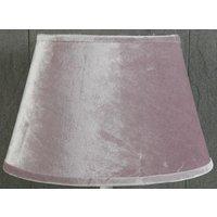 Velvet Oval lampskärm 33 cm - Rosa