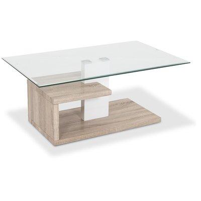Smaragd soffbord - Glas / Fanèr