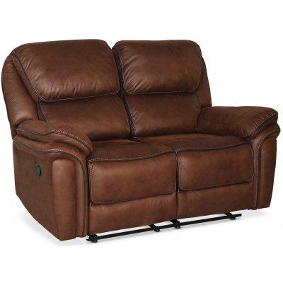 Riverdale recliner soffa 2-sits - Mocca (Micorfiber)