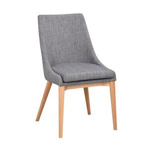 Bethan stol - Mörkgrå/ek