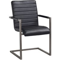 Baker stol - Svart vintage